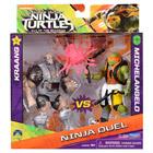 Tortues Ninja 2-Coffret 2 figurines articulées 12 cm