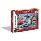 2 puzzles 20 pièces Cars 2