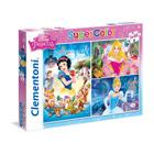 3 puzzles 48 pièces Disney Princesses