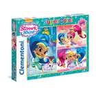 3 puzzles 48 pièces Shimmer & Shine