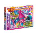 Puzzle 104 pièces brillant Trolls