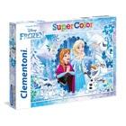 Puzzle 104 pièces Reine des Neiges
