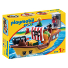 9118-Bateau de pirates Playmobil 1.2.3