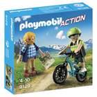 9129-Randonneur et cycliste Playmobil