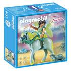 9137-Figurine avec fée avec cheval Playmobil