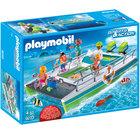 9233-Catamaran Playmobil à fond de verre et moteur