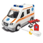 Maquette simple ambulance