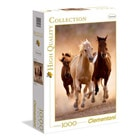 Puzzle 1000 pièces chevaux