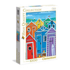 Puzzle 1000 Pièces - Rainbow Beach Huts