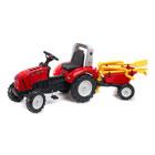 Tracteur Falk Lander Z240x et Remorque Brouette