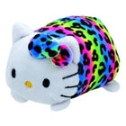 Teeny Tys-Peluche Hello Kitty multicolore 8 cm
