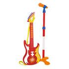 Guitare avec micro sur pied