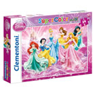 Disney Pincesses-Maxi puzzle color 24 pièces