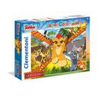 Puzzle 104 pièces La Garde du Roi Lion