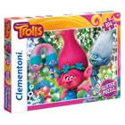 Puzzle 104 pièces Trolls Glitter
