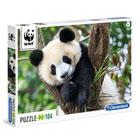 Puzzle 104 pièces WWF Panda