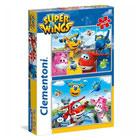 Puzzle 2 x 20 pièces Super Wings