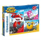 Super Wings-3 puzzles de 48 pièces