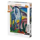Puzzle 1500 pièces cheval bleu Franz Marc