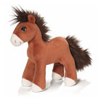 Peluche cheval 25 cm