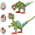 Dinosaures Bloco dinosaurus et oviraptor