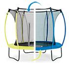 Trampoline Colours bleu/jaune 305 cm