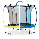 Trampoline Colours bleu/jaune 426 cm