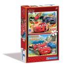 2 puzzles 20 pièces Cars