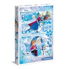 2 puzzles 20 pièces Reine des Neiges