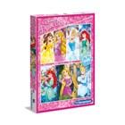 2 puzzles de 20 pièces Disney Princesses