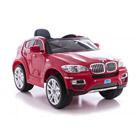 Voiture éléctrique BMW X6 rouge 12V