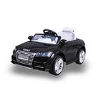 Voiture électrique Audi TTS 12V noire