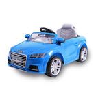 Voiture électrique Audi TTS 12V bleue