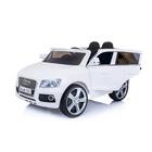 Voiture électrique Audi Q5 12V blanche