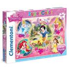 Disney princesses Puzzle 104 pièces Glitter