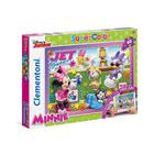 Puzzle 60 pièces avec application Minnie