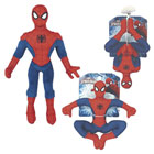 Peluche 25 cm ultimate Spiderman à ventouse