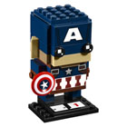 41589-Figurine BrickHeadz Captain America