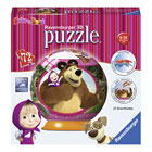Puzzle 3D 72 pièces Masha et Michka