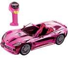 Barbie - voiture radiocommandée Crusin' Corvette R/C