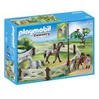 6931-Enclos avec chevaux Playmobil