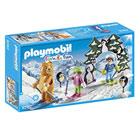 9282-Moniteur de ski avec enfants Playmobil