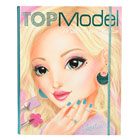 Album coloriage Top Model - Make Up Studio