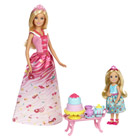 Coffret Princesses Barbie et Chelsea