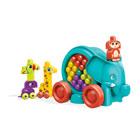 Mega Bloks-La Parade de l'éléphant bleu