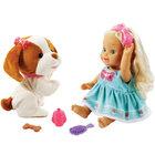 Little Love-Poupée Lou joue avec son toutou