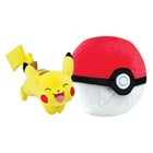 Pokemon - Peluche Zip Pokéball