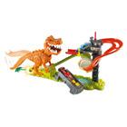 Hot Wheels - T-Rex takedown et 18 véhicules