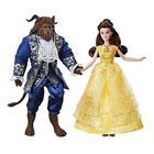 Coffret 2 poupées Belle et la Bête