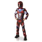 Power Rangers-Déguisement luxe rouge 3/4 ans